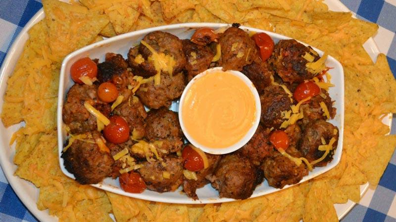Grainne's Cheesy Meatballs