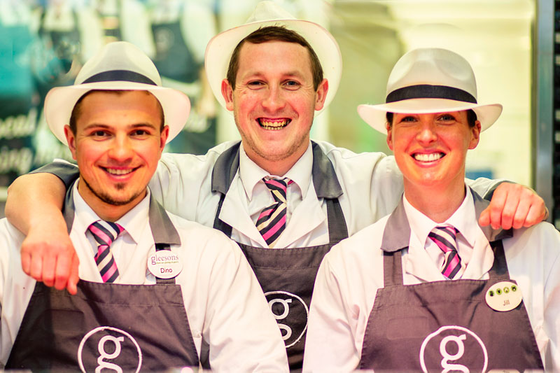 Gleesons Butchers Staff