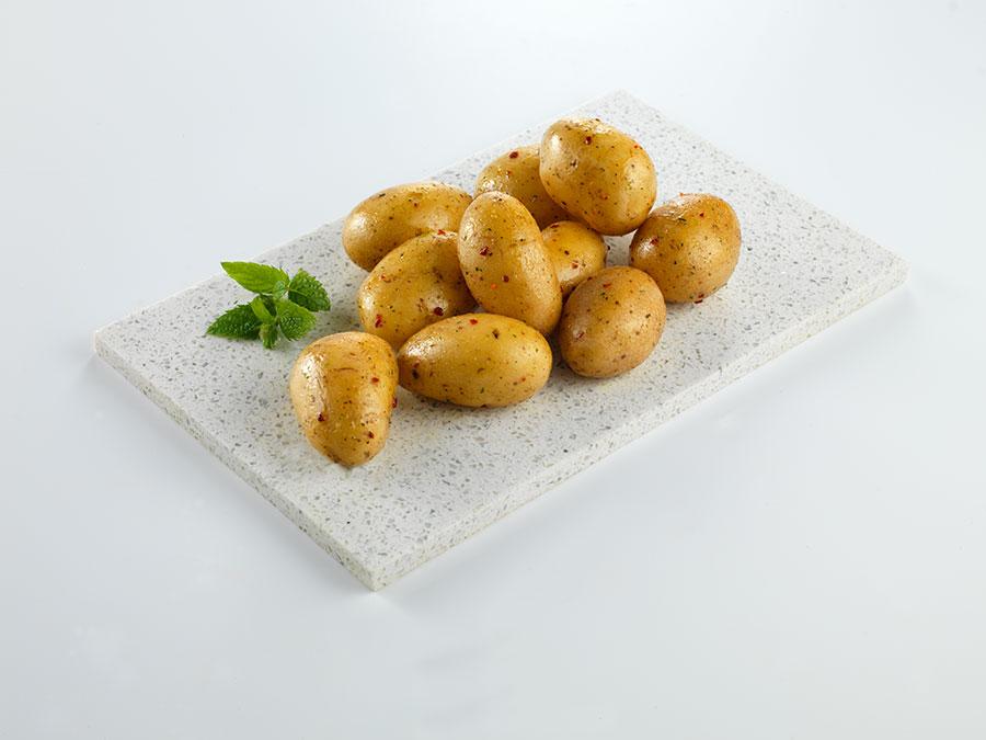 garlic baby potatoes
