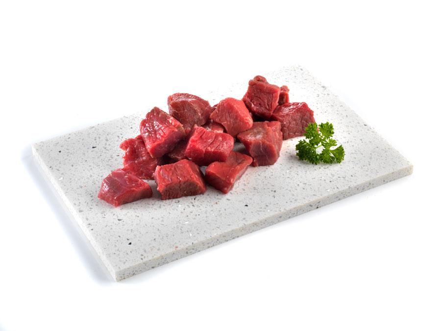 lean steak pieces