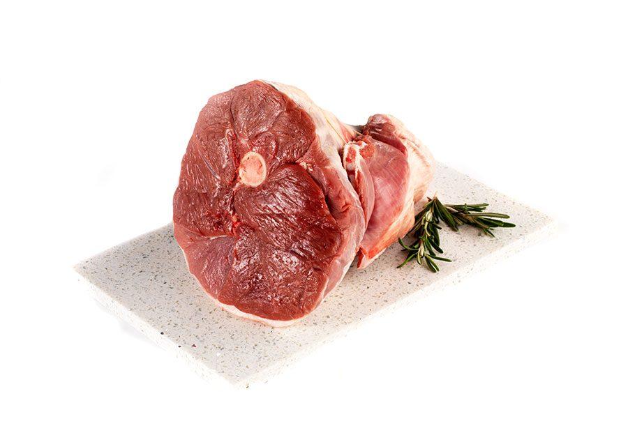 half leg of lamb