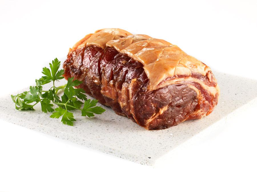 roast honey glazed ham