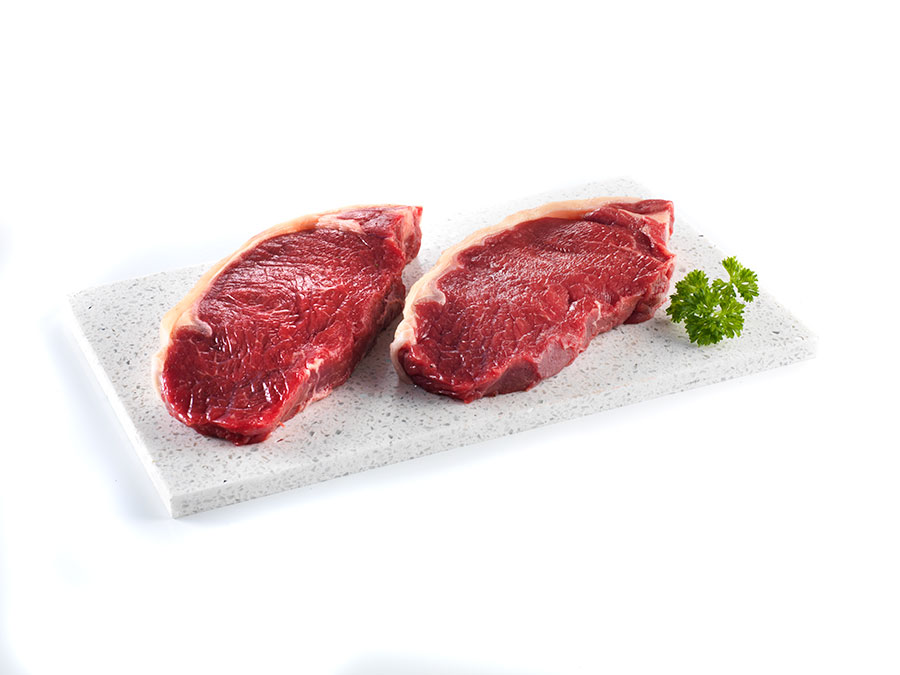 premium striploin steak