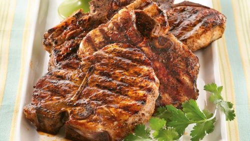Pork chops in text mex, easy meal plan week 3