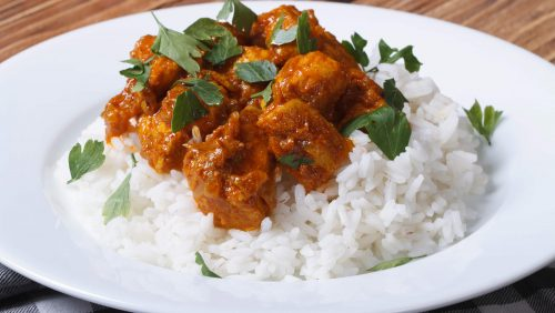 Thursday Gleesons Chicken Curry