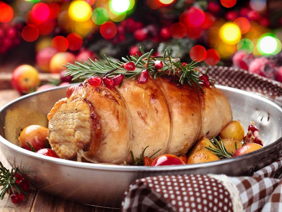 christmas boned and rolled turkey