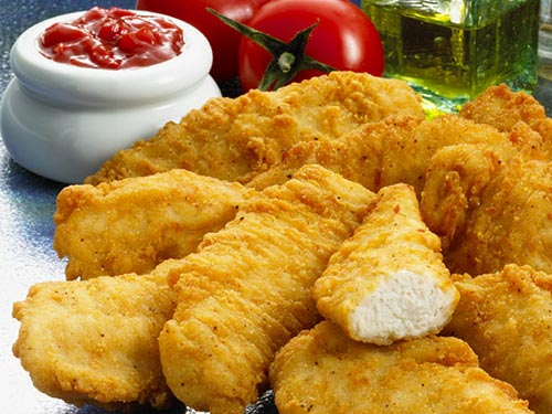 kids food | photo of chicken goujons | Butchers Online Ireland