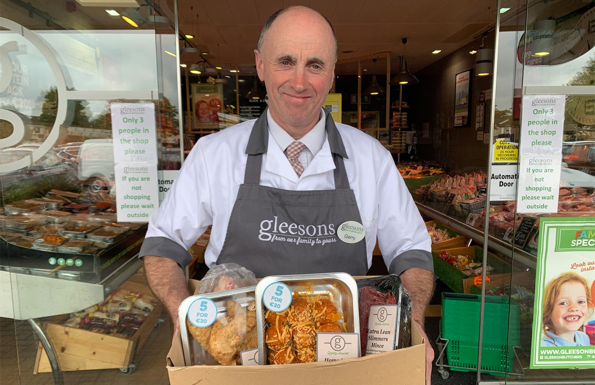 gleesons butchers orders collection