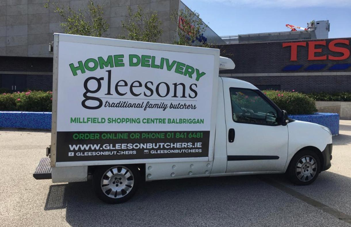 gleesons butchers orders delivery