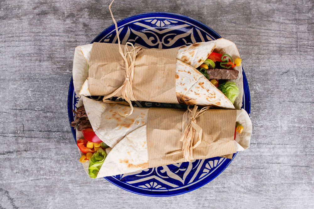 Gleeson Butchers Chipotle Beef Burritos